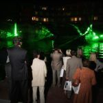 11 Laser show, laguna Bernardin, Portorož